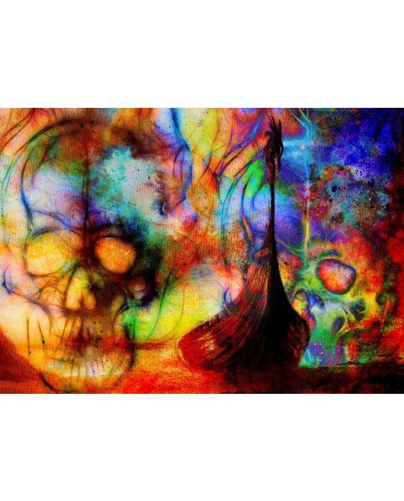 Lais Puzzle - Unmögliche, sehr schwierige, psychedelische Farben - 1.000 Teile