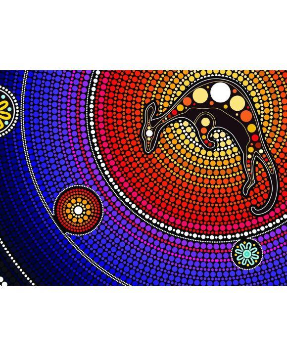 Lais Puzzle - Aborigines Kunst mit Känguru - 100, 200, 500, 1.000 & 2.000 Teile