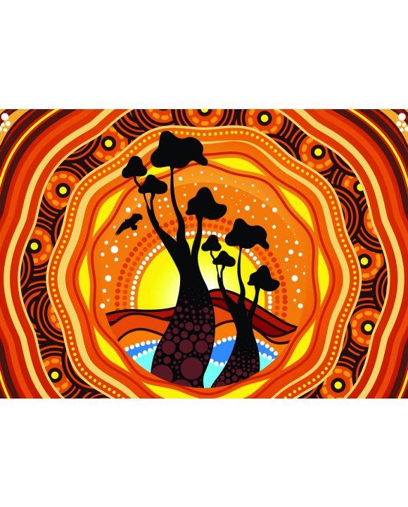 Lais Puzzle - Aborigines Kunst - 100, 200 & 500 Teile