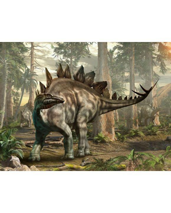 Lais Puzzle - Stegosaurus Dinosaurier - 100, 200, 500, 1.000 & 2.000 Teile