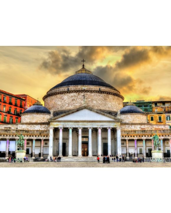 Lais Puzzle - San Francesco di Paola Basilica Neapel Italien - 1.000 Teile