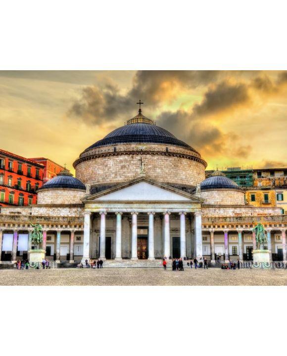 Lais Puzzle - San Francesco di Paola Basilica Neapel Italien - 100, 200, 500, 1.000 & 2.000 Teile