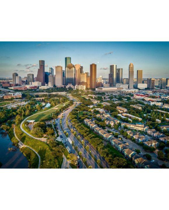 Lais Puzzle - Houston, Texas, USA, Skyline - 100, 200, 500, 1.000 & 2.000 Teile
