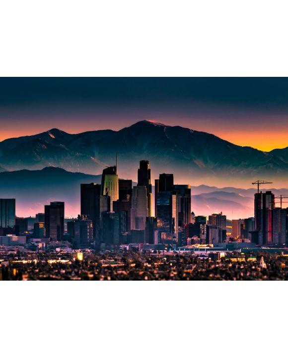 Lais Puzzle - Los Angeles, Kalifornien, USA, am Morgen - 1.000 Teile
