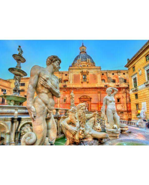 Lais Puzzle - Palermo, Sizilien, Italien - 1.000 Teile
