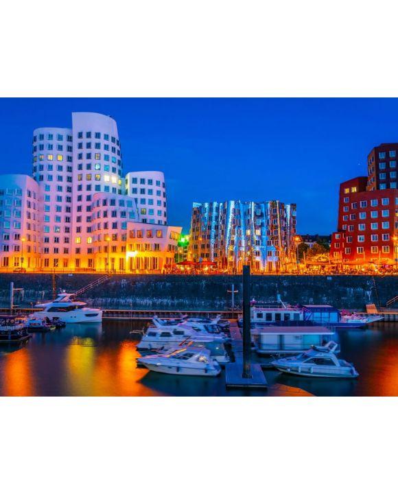 Lais Puzzle - Düsseldorf Hafenviertel - 100, 200, 500, 1.000 & 2.000 Teile