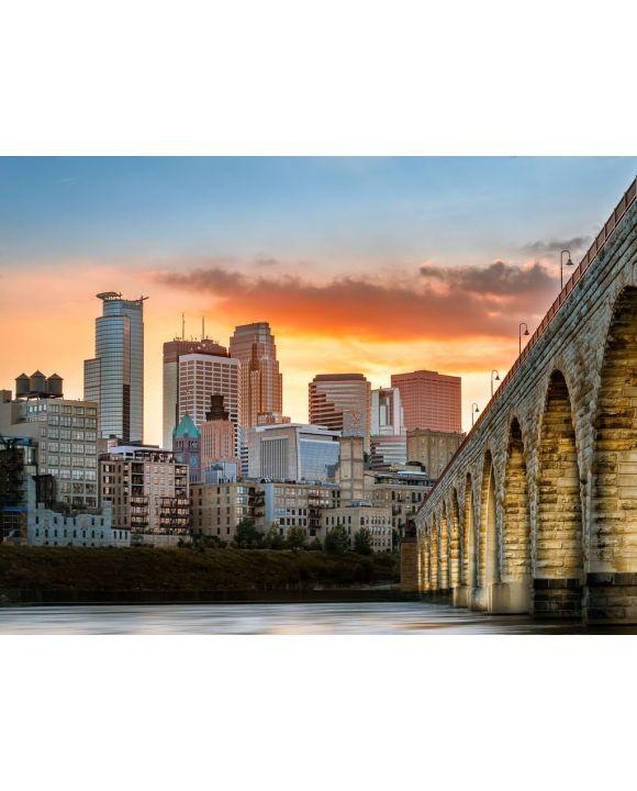 Lais Puzzle - Minneapolis, Minnesota - 100, 200, 500, 1.000 & 2.000 Teile