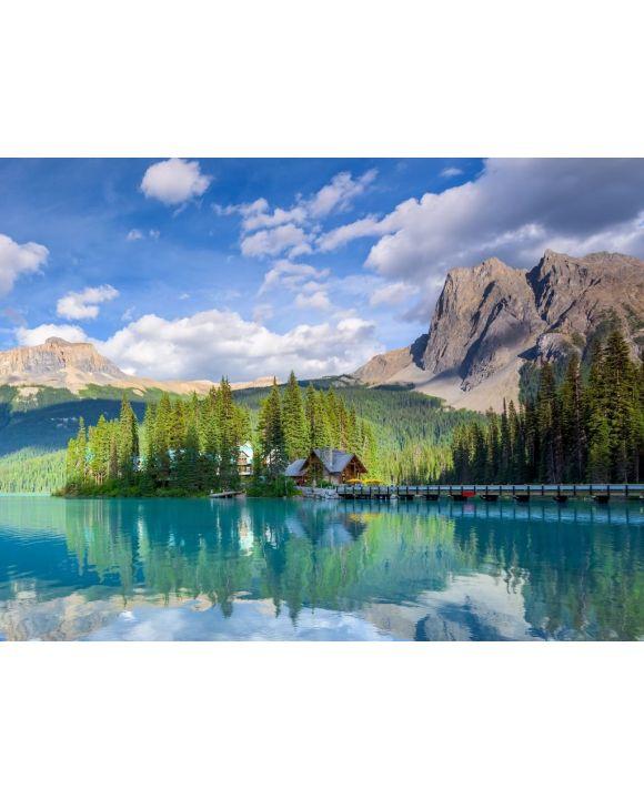 Lais Puzzle - Schöner smaragdgrüner See, Yoho Nationalpark, Britisch Columbia, Kanada - 100, 200, 500, 1.000 & 2.000 Teile