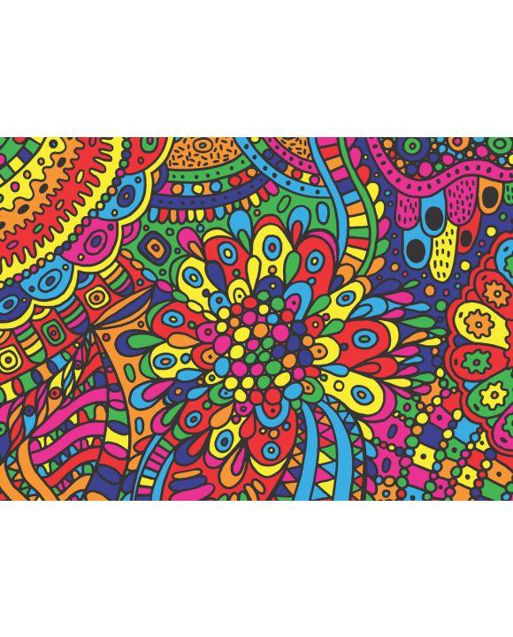 Lais Puzzle - Unmögliche, sehr schwierige, psychedelische Farben - 100, 200, 500 & 1.000 Teile