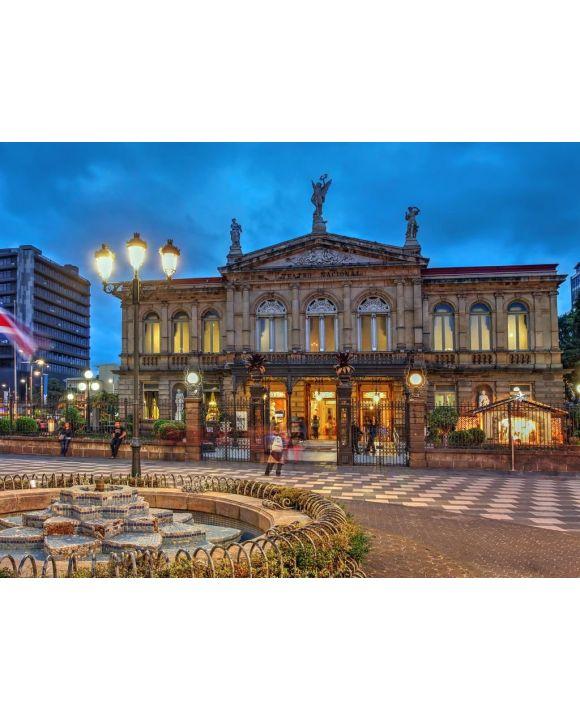 Lais Puzzle - Nationaltheater von Costa Rica in San Jose - 100, 200, 500, 1.000 & 2.000 Teile