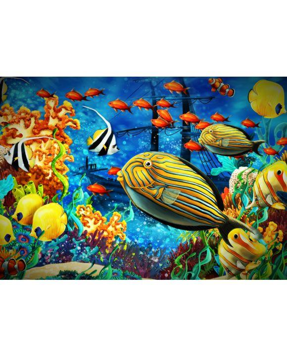 Lais Puzzle - Fische im Korallenriff - 100, 200, 500 & 1.000 Teile