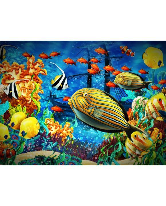 Lais Puzzle - Fische im Korallenriff - 100, 200, 500, 1.000 & 2.000 Teile