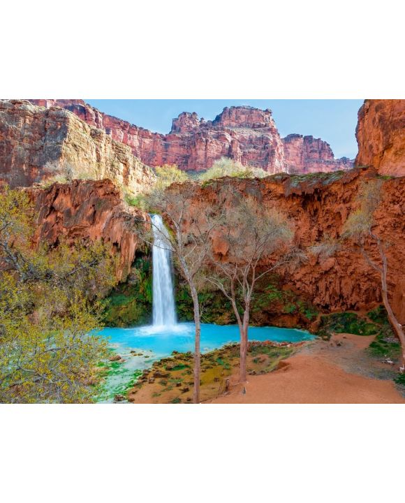 Lais Puzzle - Wasserfall in Grand Canyon - 100, 200, 500, 1.000 & 2.000 Teile