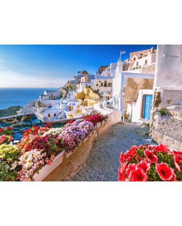 Lais Puzzle - Santorini in Griechenland - 100, 200, 500, 1.000 & 2.000 Teile