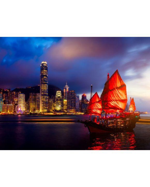 Lais Puzzle - Hongkong - 100, 200, 500, 1.000 & 2.000 Teile