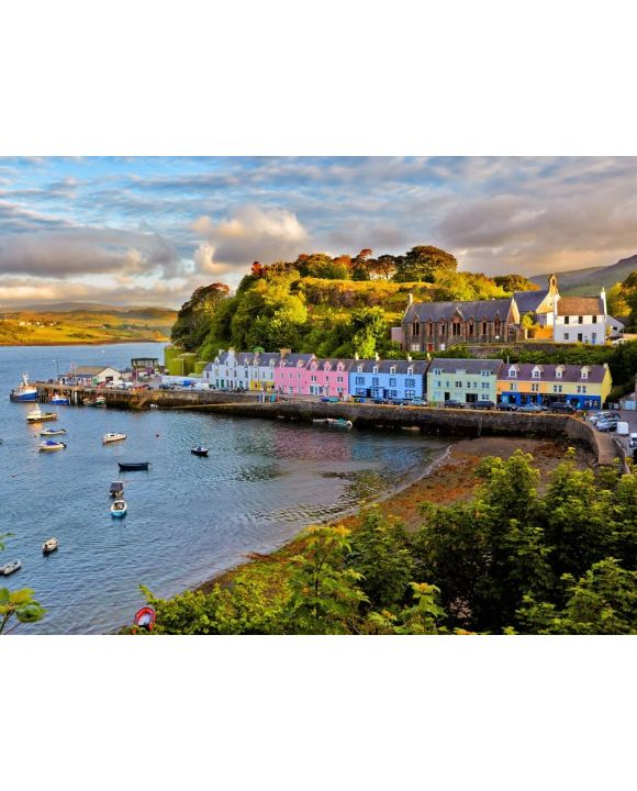 Lais Puzzle - Portree, Isle of Skye - 100, 200, 500, 1.000 & 2.000 Teile