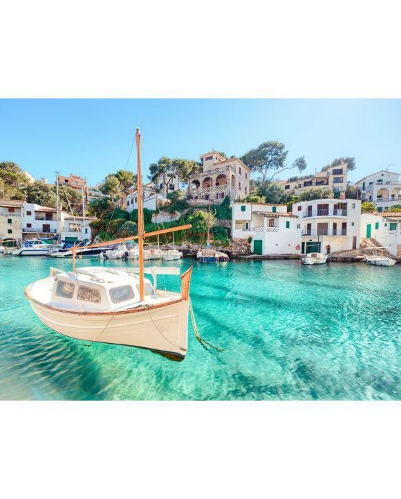 Lais Puzzle - Mallorca Cala Figuera Boot Spanien Balearen Bucht - 100, 200, 500, 1.000 & 2.000 Teile