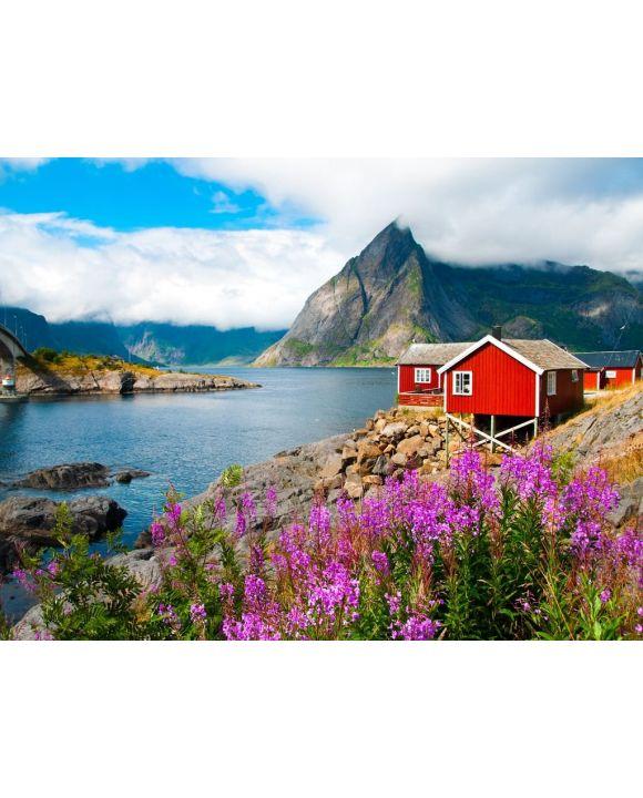 Lais Puzzle - Lofoten, Norwegen - 100, 200, 500, 1.000 & 2.000 Teile