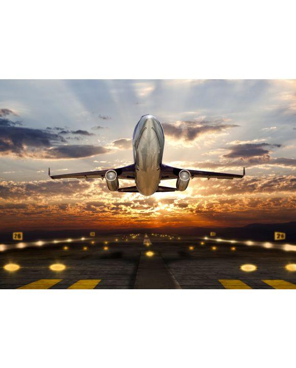 Lais Puzzle - Flugzeug im Sonnenuntergang - 100, 200, 500 & 1.000 Teile