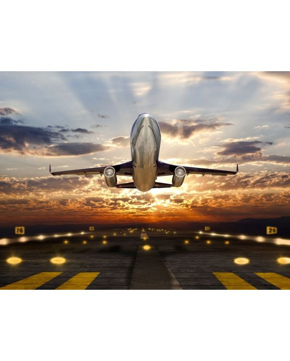 Lais Puzzle - Flugzeug im Sonnenuntergang - 100, 200, 500, 1.000 & 2.000 Teile