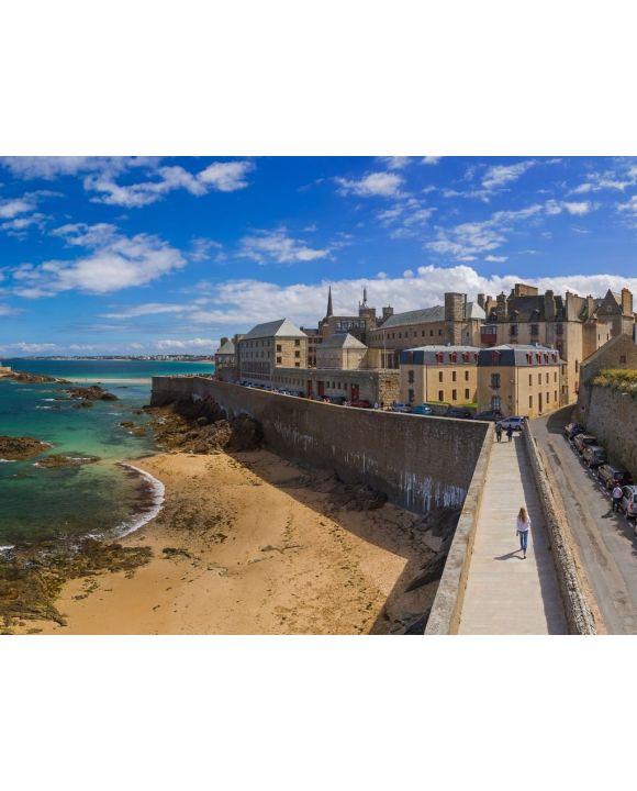 Lais Puzzle - Saint-Malo Bretagne - 100, 200, 500, 1.000 & 2.000 Teile
