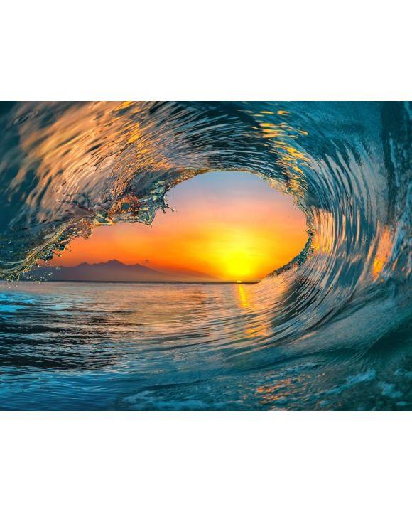 Lais Puzzle - Welle im Sonnenuntergang - 100, 200, 500, 1.000 & 2.000 Teile