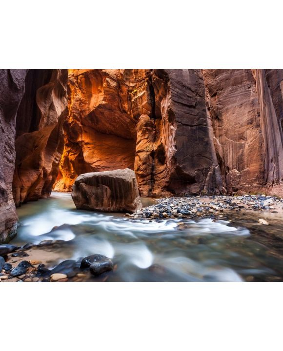 Lais Puzzle - Wall Street in den Narrows, Zion National Park, Utah - 100, 200, 500, 1.000 & 2.000 Teile