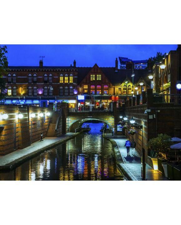 Lais Puzzle - Birmingham Kanal - 100, 200, 500, 1.000 & 2.000 Teile
