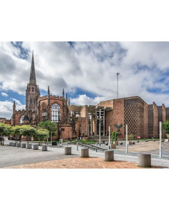 Lais Puzzle - Coventry Cathedral - 100, 200, 500, 1.000 & 2.000 Teile