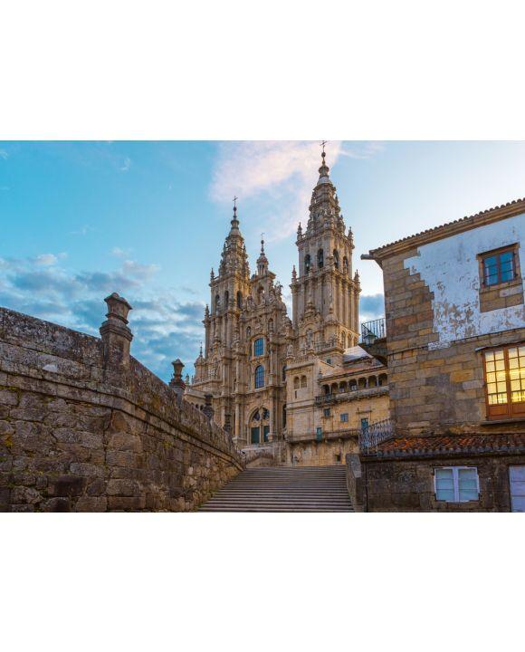 Lais Puzzle - Alte gotische Kathedrale Santiago de Compostela, Galizien, Spanien - 100, 200, 500 & 1.000 Teile