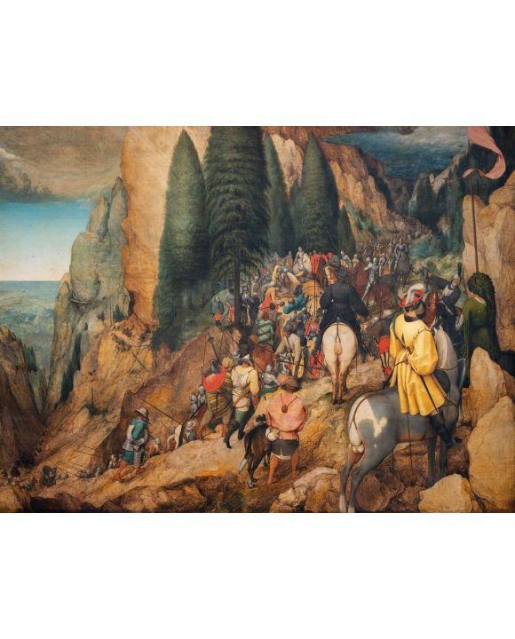 "Lais Puzzle - Pieter Bruegel d.Ä. - ""Die Bekehrung von Paulus"" (1567) - 500 & 1.000 Teile"