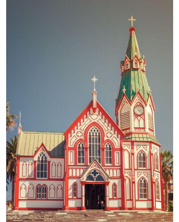 Lais Puzzle - Catedral de San Marcos in Arica, Nordchile - 500 & 1.000 Teile