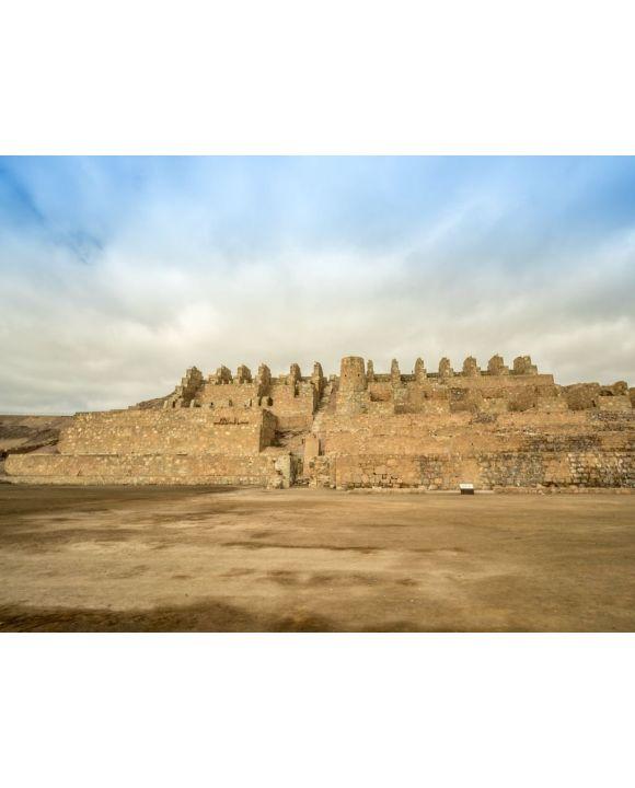 Lais Puzzle - Museo Ruinas de Huanchaca, Die Ruinen von Huanchaca sind die Überreste einer alten Silberschmelze in Antofagasta, Chile - 100, 200, 500, 1.000 & 2.000 Teile