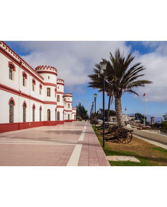 Lais Puzzle - Militärgebäude im Santa Lucia Park, La Serena, Region Coquimbo, Chile - 100, 200, 500, 1.000 & 2.000 Teile