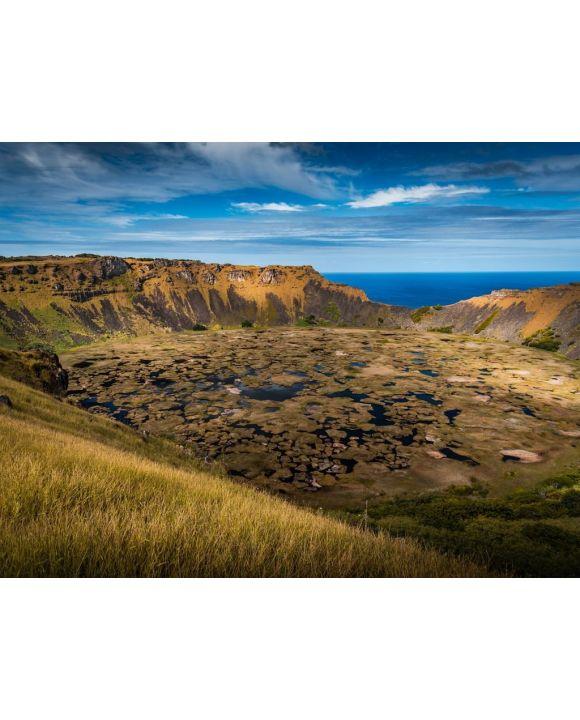 Lais Puzzle - Vulkan Rano Raraku auf der Osterinsel - 100, 200, 500, 1.000 & 2.000 Teile