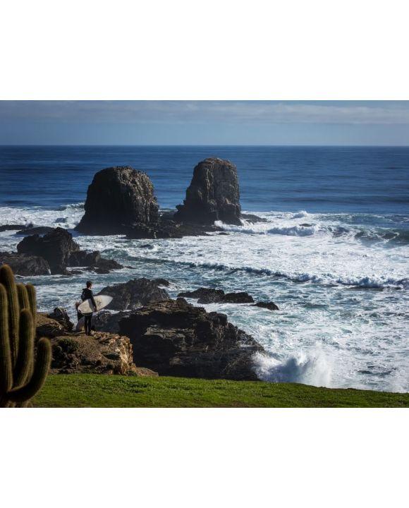Lais Puzzle - Der wilde Strand von Pichilemu gilt als Surfstadt in Chile. Zentrale Küste, zwei Stunden südlich von Santiago - 100, 200, 500, 1.000 & 2.000 Teile