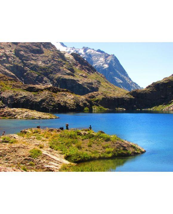 Lais Puzzle - Cuellar Lagunen. Achibueno-Tal, Linares Chile. Andenberg. Natur - 100, 200, 500, 1.000 & 2.000 Teile