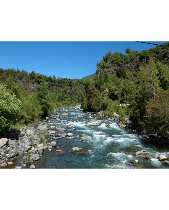 Lais Puzzle - Radal Siete Tazas Nationalpark Curicó Chile: Wasserfälle, Naturwald, Naturfluss, klares Wasser, Urwald - 100, 200, 500, 1.000 & 2.000 Teile