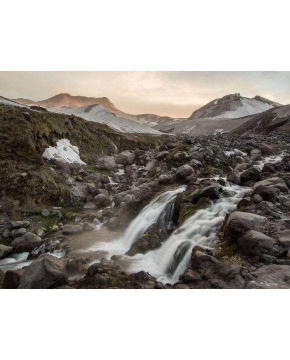 Lais Puzzle - Wasserfall und Steine nahe Nevados de Chillan in Chile, Südamerika - 100, 200, 500, 1.000 & 2.000 Teile