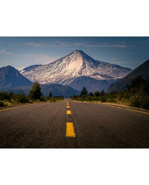 Lais Puzzle - Straße zum Vulkan Antuco am Morgen - 100, 200, 500, 1.000 & 2.000 Teile
