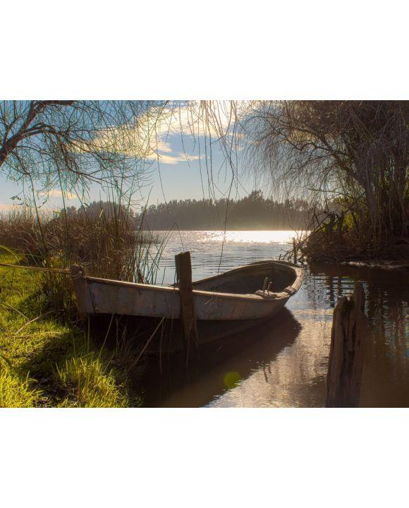 Lais Puzzle - Boote, Lago Budi, Chile - 100, 200, 500, 1.000 & 2.000 Teile