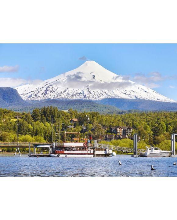 Lais Puzzle - Bild des Vulkans Villarrica, Chile - 100, 200, 500, 1.000 & 2.000 Teile