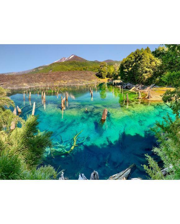 Lais Puzzle - Lago Arcoiris bei Conguillio N.P. (Chile) - 100, 200, 500, 1.000 & 2.000 Teile