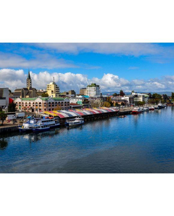 Lais Puzzle - Valdivia am Fluss, Chile - 100, 200, 500, 1.000 & 2.000 Teile