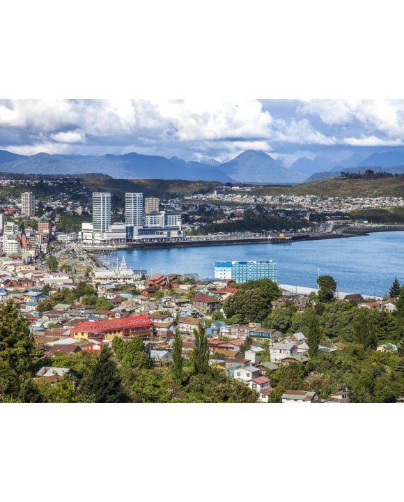 Lais Puzzle - Panoramablick von Puerto Montt, Chile - 100, 200, 500, 1.000 & 2.000 Teile