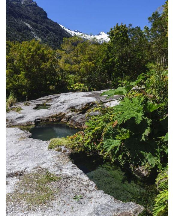Lais Puzzle - Chile, Patagonien, Lake District, Pumalin Park. Cahuelmo heiße Quelle - 100, 200, 500, 1.000 & 2.000 Teile