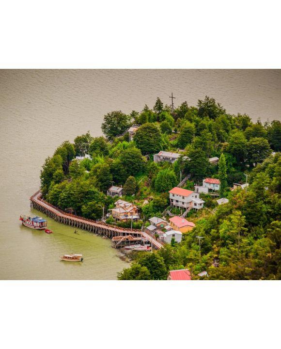 Lais Puzzle - Caleta Tortel Bay, Chile - 100, 200, 500, 1.000 & 2.000 Teile