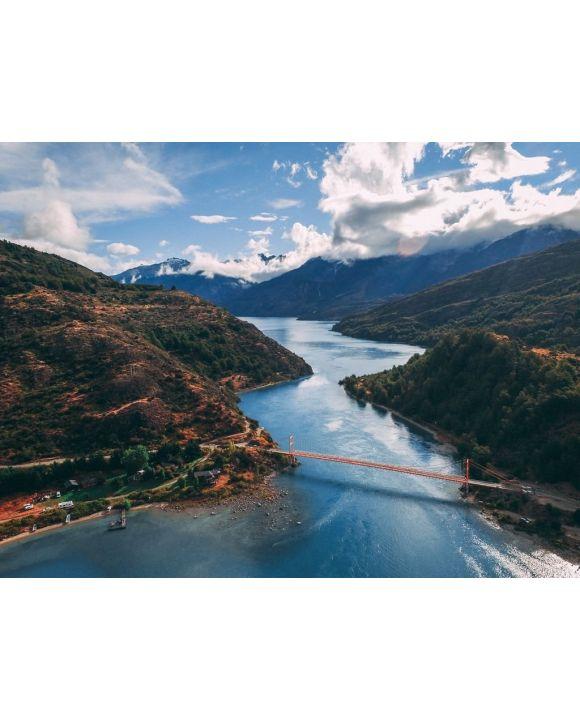 Lais Puzzle - Brücke in Patagonien, Chile - 100, 200, 500, 1.000 & 2.000 Teile