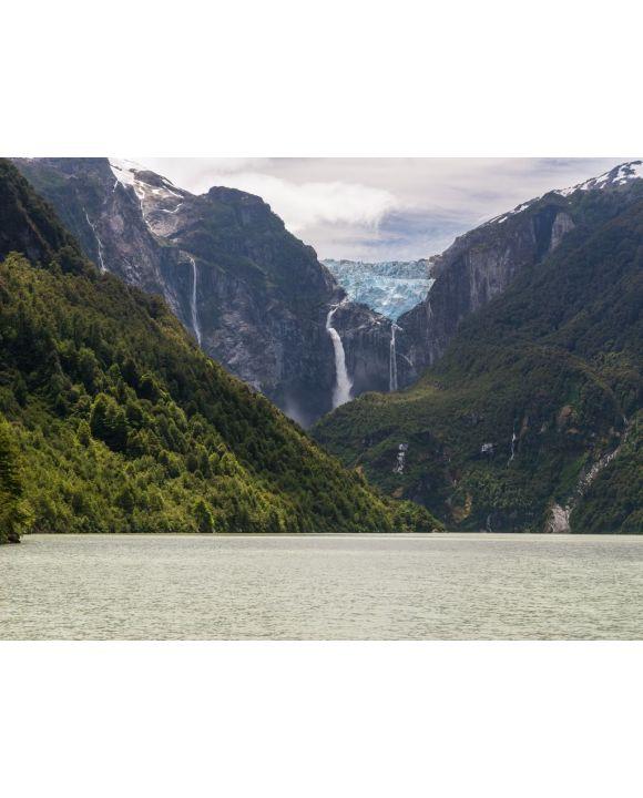 Lais Puzzle - Hängender Gletscher des Queulat-Nationalparks (Chile) - 100, 200, 500, 1.000 & 2.000 Teile