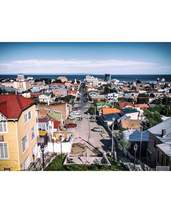 Lais Puzzle - Panoramablick auf die Stadt Punta Arenas, Chile - 100, 200, 500, 1.000 & 2.000 Teile